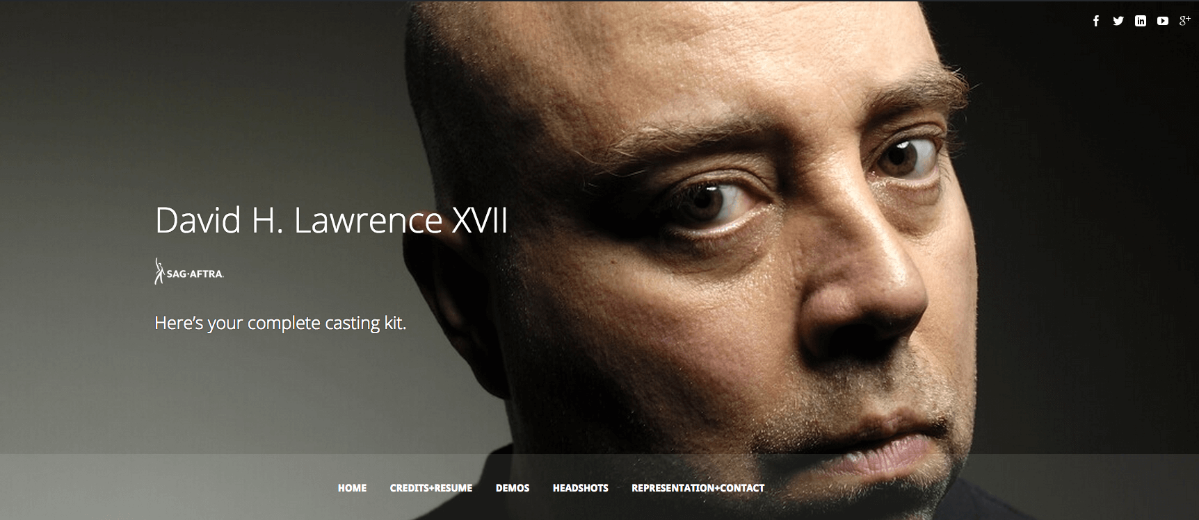 david h  lawrence xvii   actor  voice talent  voice over